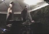 Abgang mit DJ-Pult