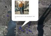 Alben Cover gefunden mit Google Maps