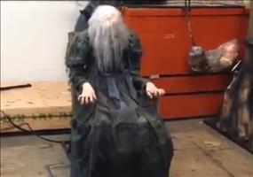 Der ultimative Schreck für jede Haustür an Halloween