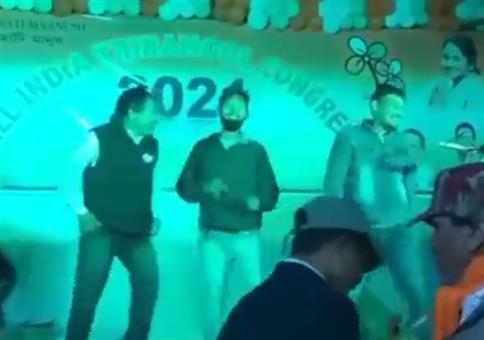 Indischer Breakdance