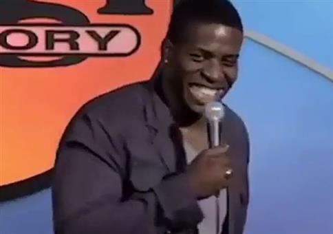 African Comedian