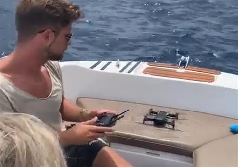 Stefan und seine neue Drohne