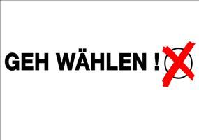 Bundestagswahl 2013 - Geh wählen!