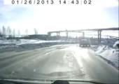Sowas gibts auch nur auf den Straßen Russlands