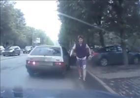Überfall auf offener Straße in Russland