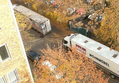 Wenn die Polizei einen Dieselfahrer in der Verbotszone erwischt