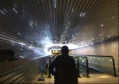 Lichttunnel aus 40.000 LEDs