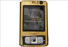 Nokia N95 - 24k Classic Gold and Diamonds