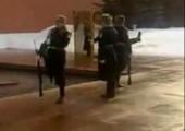 Wachen auf Glatteis