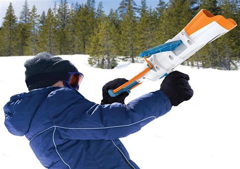 Schneeball-Armbrust-Kanone