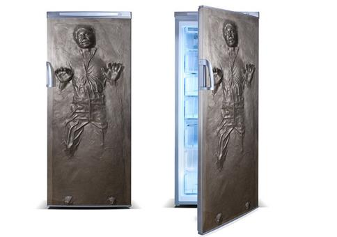 Han Solo in Karbonit für deinen Kühlschrank
