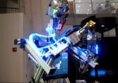 Rubik-Würfel lösender Roboter