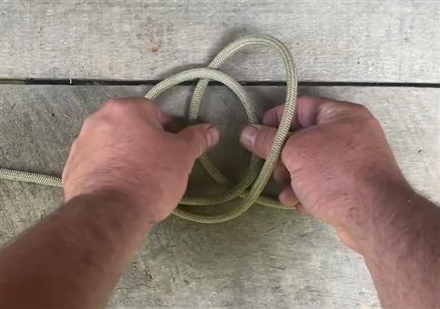 Handschellen Knoten