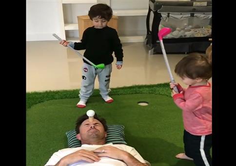 Golf mit den Kids