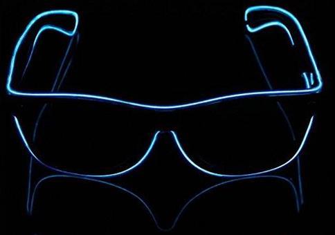 Leuchtende LED Sonnenbrillen für unter 10€
