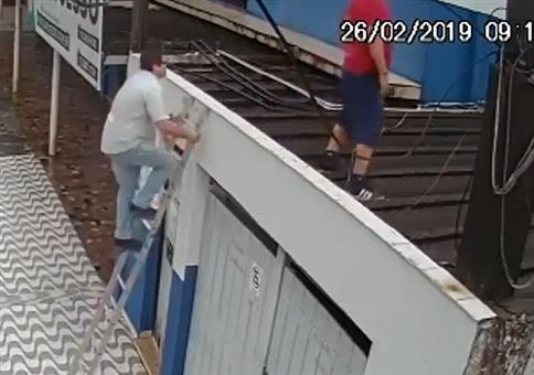 Da will der Chef mal kurz aufs Dach schauen