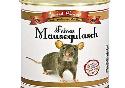 Feines Mäusegulasch aus der Dose
