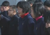 Nordkorea in tiefer Trauer