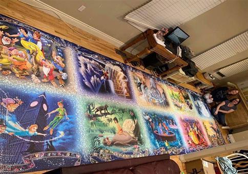 Riesenpuzzle mit über 40.000 Teilen