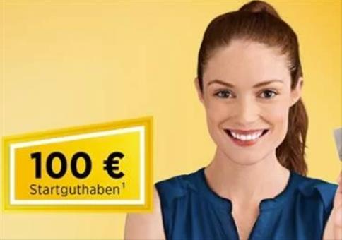 TOP: 100€ Startguthaben für kostenloses Girokonto