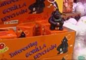 Gorilla Schlüsselanhänger