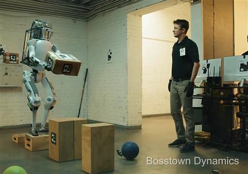 Bosstown Dynamics - Roboter ärgern
