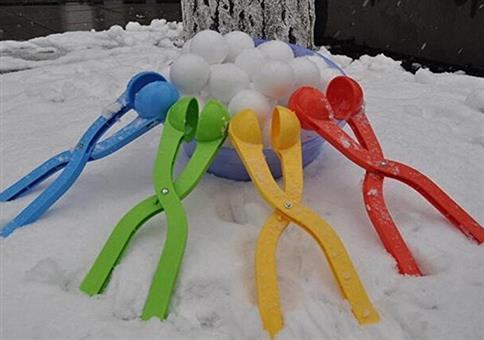 Die Zange für perfekte Schneebälle!