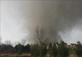 Tornado über Washington,IL - Mittendrin