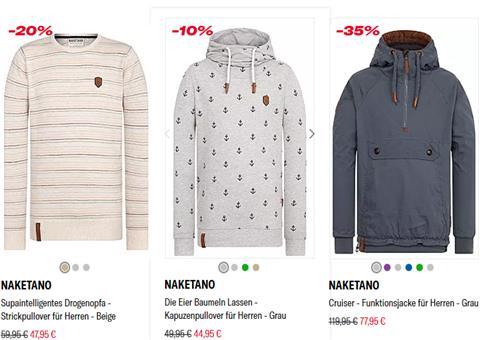 Naketano Restposten Sale bis 60% Rabatt