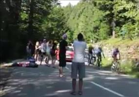 Kleine Abkürung bei der Tour de France