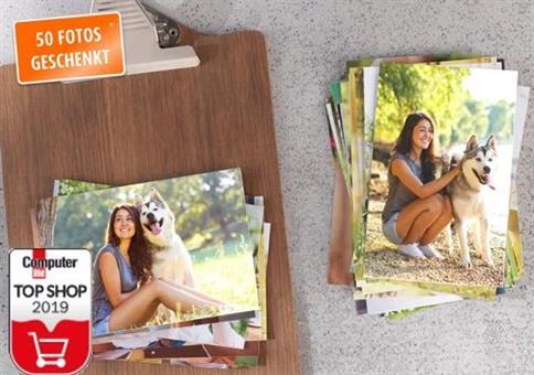 Kostenlos: 50 Fotos im 10er Format bei Pixum für Neukunden