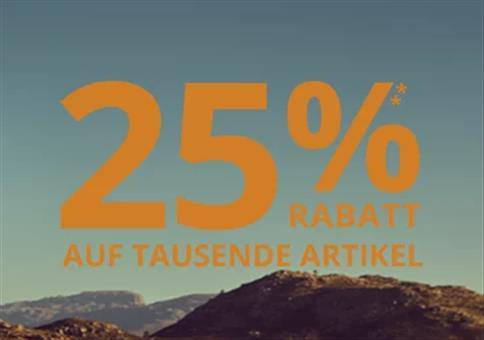 Peek & Cloppenburg mit 25% Extra Rabatt