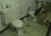 WC Scherz geht ins Auge