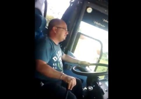 Bus mit Autopilot