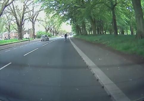 Augen auf beim Fahrradfahren