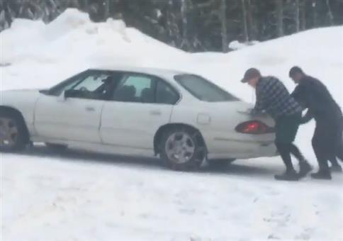 Guter Ratschlag zu den Schneeketten
