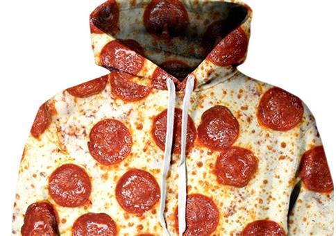 Salami Pizza Hoddie