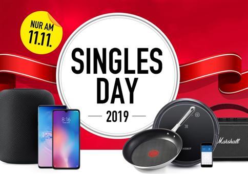 Singles Day 2019 – Angebote in der Übersicht