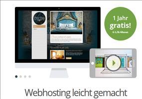 GRATIS: 15GB Webspace + Domain für 12 Monate kostenlos