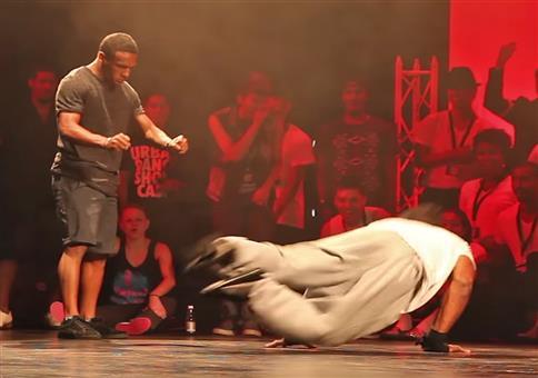 Bboy Junior VS Bboy Neguin - Freestyle Breaking Battle