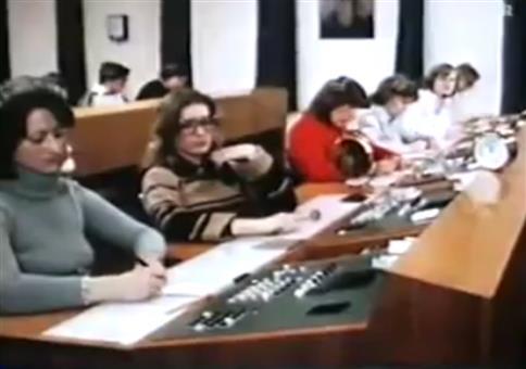 Telefonische Zeitansage 1978