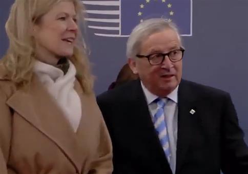 Jean-Claude Juncker dreht schon wieder frei