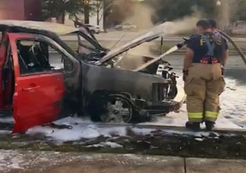 Wenn die Thermoskanne einen Autobrand übersteht