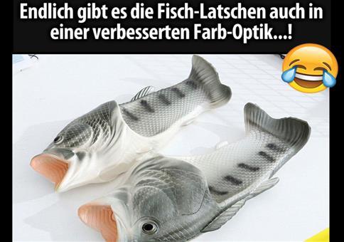 Fisch-Latschen