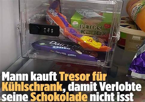 Mann kauft Tresor für Kühlschrank...