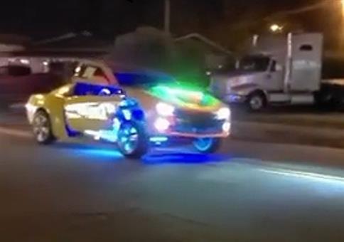 Nachts sind die Transformers unterwegs