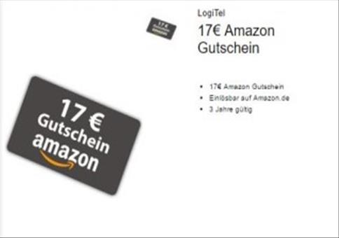 17€ Amazon-Guthaben geschenkt!