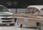 Crashtest: 1959er Chevrolet Bel Air vs 2009er Chevrolet Malibu