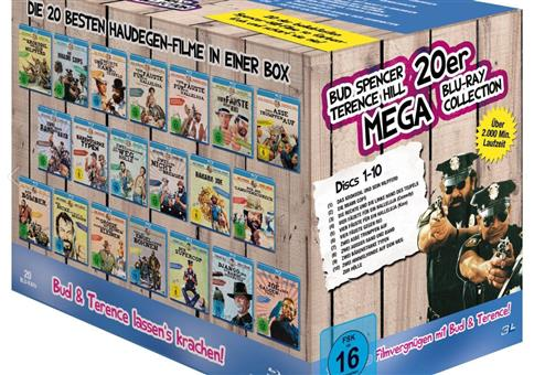 Bud Spencer & Terence Hill - Mega Blu-ray Collection