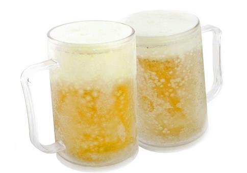 Bierkrug zum Einfrieren
